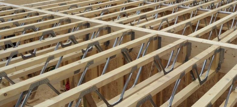 Engineered floor systems with space joist hawthorne