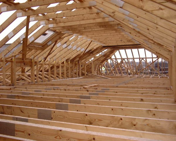 Timber Roof Trusses Trussed Rafters Northern Ireland